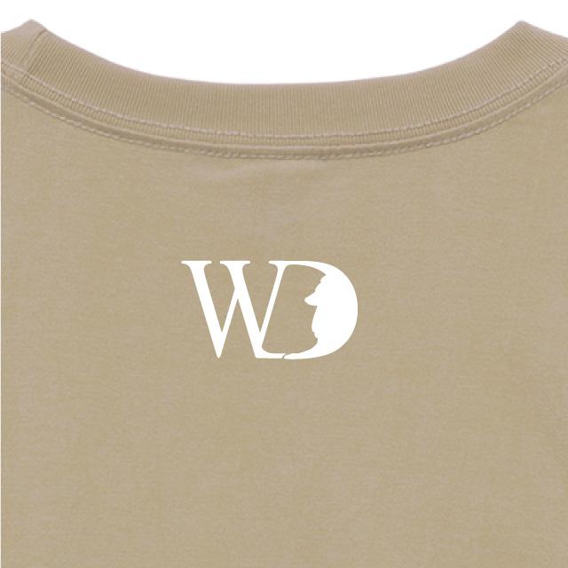 シェットランド・シープドッグ_ST01_04【With a Dogシリーズ・DONNA TOKIMO・半袖Tシャツ】【背面拡大】