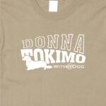 ミニチュア・ダックスフンド・ロング_ST01_02【With a Dogシリーズ・DONNA TOKIMO・半袖Tシャツ】